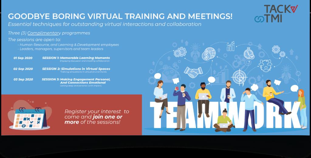 Goodbye Boring Virtual Meeting from Tack TMI